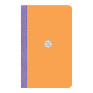 Flexbook Smartbook Notebook Medium Ruled Orange/Purple