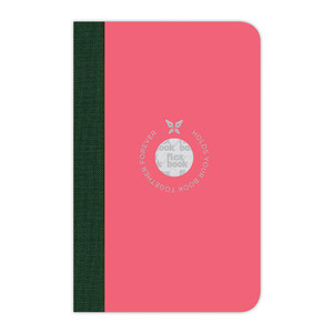 Flexbook Smartbook Notebook Pocket Ruled Pink/Green