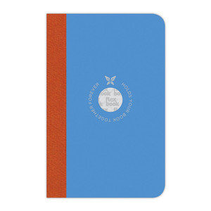 Flexbook Smartbook Notebook Pocket Ruled Blue/Orange