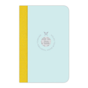 Flexbook Smartbook Notebook Pocket Ruled Mint/Yellow