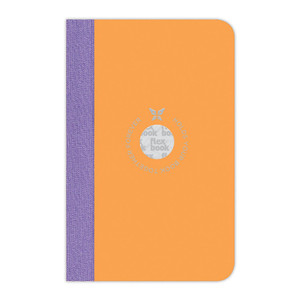 Flexbook Smartbook Notebook Pocket Ruled Orange/Purple