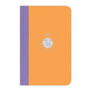 Flexbook Smartbook Notebook Pocket Ruled Orange