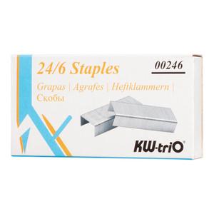 KW-triO Staples 24/6 Box of 1000