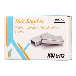KW-triO Staples 26/6 Box of 1000