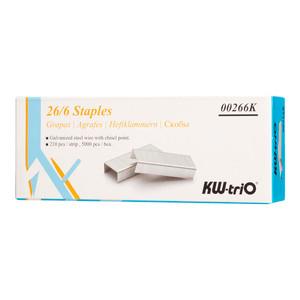 KW-triO Staples 26/6 Box of 5000