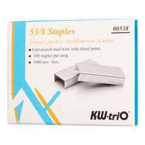 KW-triO Staples 53/8 Box of 1000