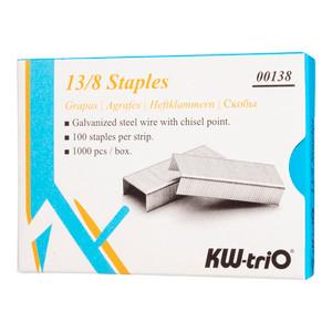 KW-triO Staples 13/8 Box of 1000
