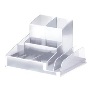 Italplast Desk Organiser Clear