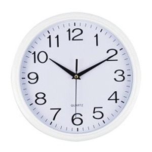 Italplast Wall Clock 30cm White