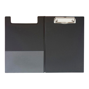 OSC Clipboard PVC Double A5 Black
