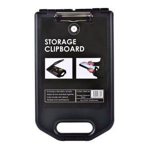 OSC Storage Clipboard A4 Black