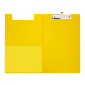 OSC Clipboard PVC Double FC Yellow