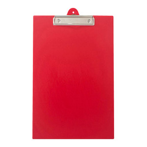 OSC Clipboard PVC Single FC Red
