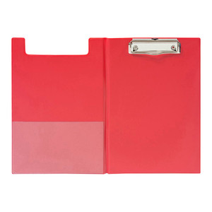 OSC Clipboard PVC Double A5 Red