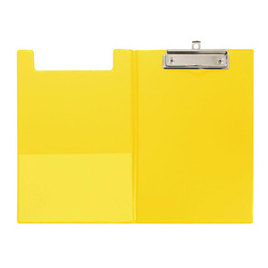 OSC Clipboard PVC Double A5 Yellow