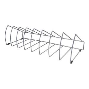 OSC File Rack Triangular 8 Slots Metal