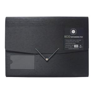 OSC Eco Expanding File A4 12 Pocket Black