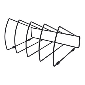 OSC File Rack Triangular 4 Slots Black