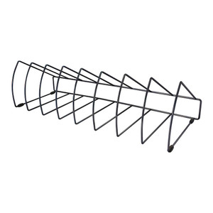 OSC File Rack Triangular 8 Slots Black