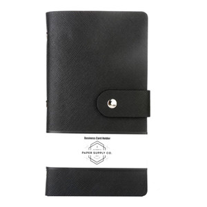 OSC Citta Business Card Holder Black 192 cards