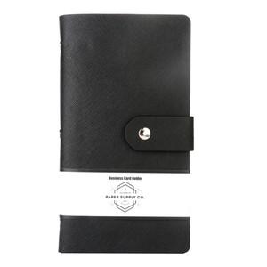 OSC Citta Business Card Holder Black 192 cards