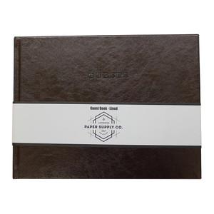 OSC Citta Guest Book Vintage Brown