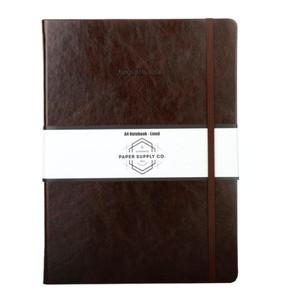 OSC Vintage Hardcover Journal A4 Brown