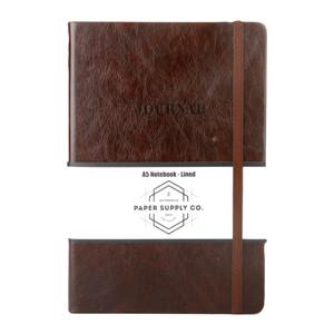 OSC Vintage Hardcover Journal A5 Brown