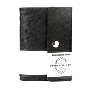 OSC Citta Business Card Holder Black 20 cards