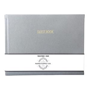 OSC Citta Guest Book Silver
