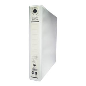 OSC Insert Binder A5 2D 25mm White