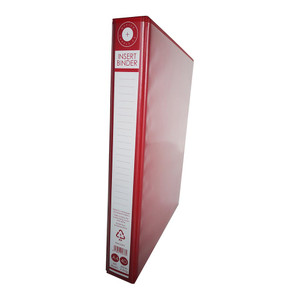 OSC Insert Binder A4 4D 25mm Red