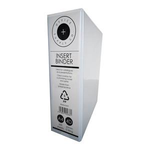 OSC Insert Binder A4 4D 65mm White