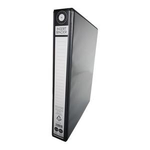 OSC Insert Binder A4 4D 25mm Black