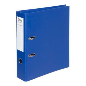 Icon Lever Arch File A4 Linen Royal Blue