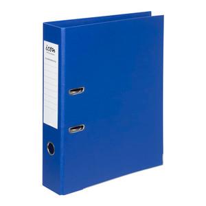 Icon Lever Arch File FS Linen Royal Blue