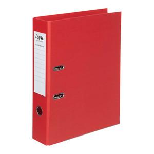 Icon Lever Arch File FS Linen Red