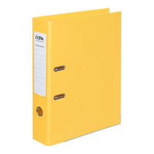 Icon Lever Arch File FS Linen Yellow