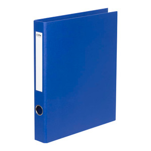 Icon Ringbinder Linen A4 2D 26mm Royal Blue