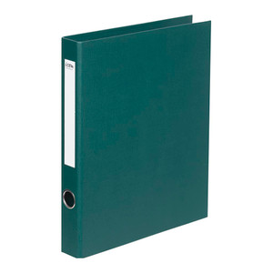 Icon Ringbinder Linen A4 2D 26mm Forest Green