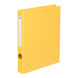 Icon Ringbinder Linen A4 2D 26mm Yellow