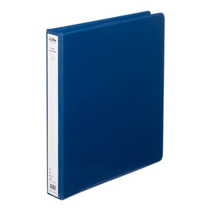 Icon Insert Binder A4 2D 26mm Navy Blue