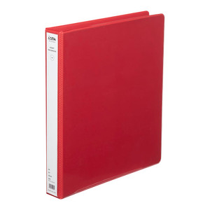 Icon Insert Binder A4 2D 26mm Red