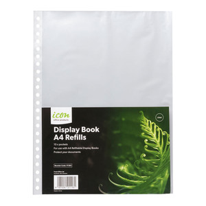 Icon Refillable Display Book Refills Pack of 10