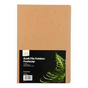 Icon Kraft File Folders FS Pack of 10