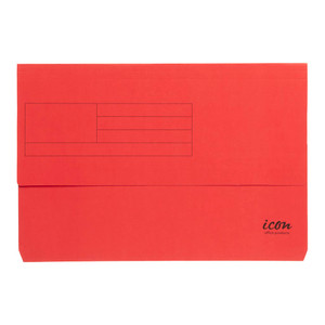 Icon Card Document Wallet FS Red