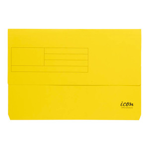 Icon Card Document Wallet FS Yellow