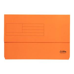 Icon Card Document Wallet FS Orange