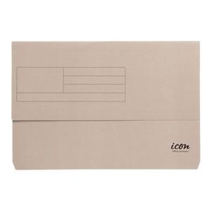 Icon Card Document Wallet FS Grey