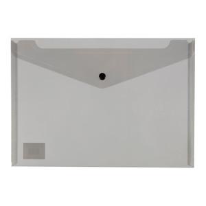 Icon PP Document Wallet A4 Button Closure Black